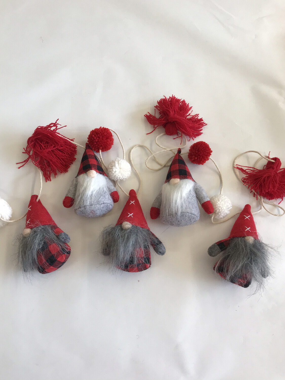 Tassel Gnome Garland
