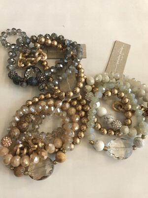Stackable Semi Precious