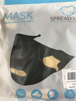 Men's Camo Mask
