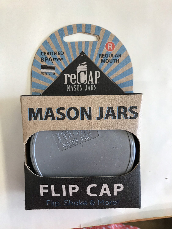 reCAP Flip Cap SILVER