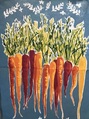 Carrots Dishtowel
