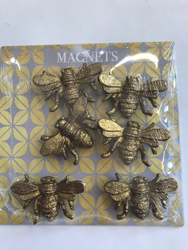Pewter Bee Magnets