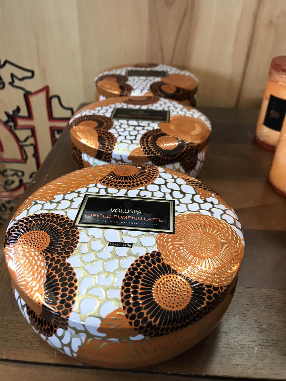 Spiced Pumpkin Latte 3Wick