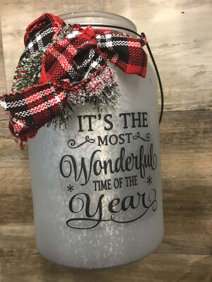 1 Gal Holiday Jar