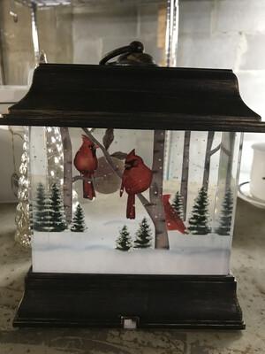 Brown Cardinal Lantern