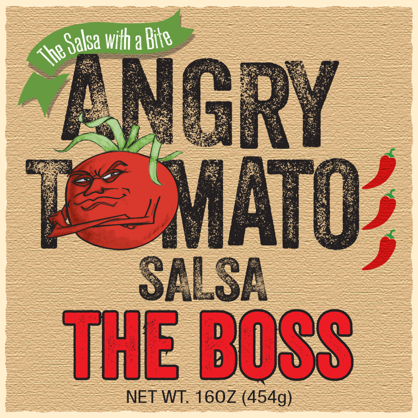 Angry Tomato The Boss