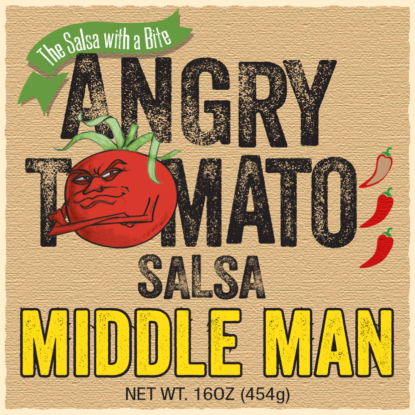 Angry Tomato MiddleMan