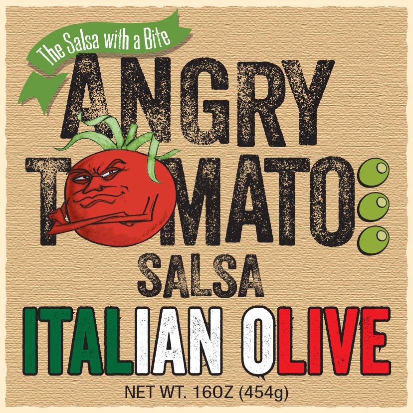 Angry Tomato Italian Olive