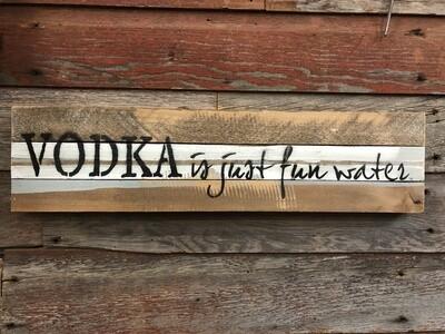 Vodka Just Fun Water