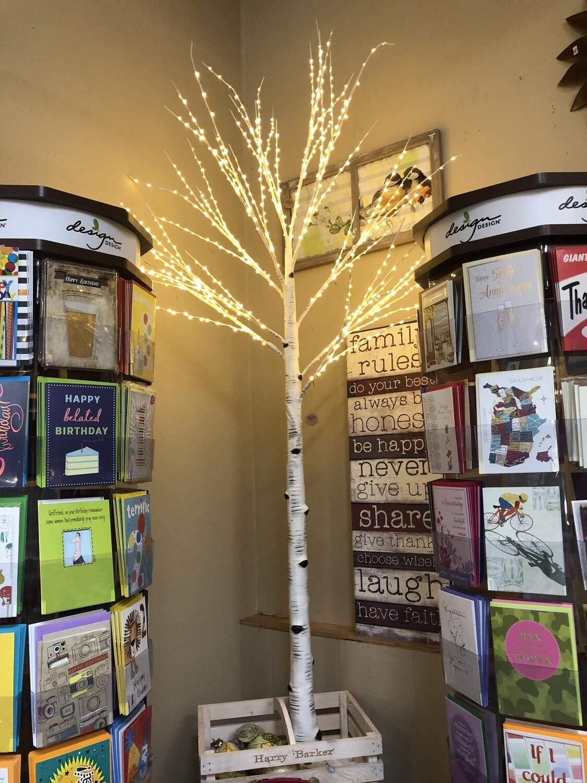 Birch LED 8' Tree
