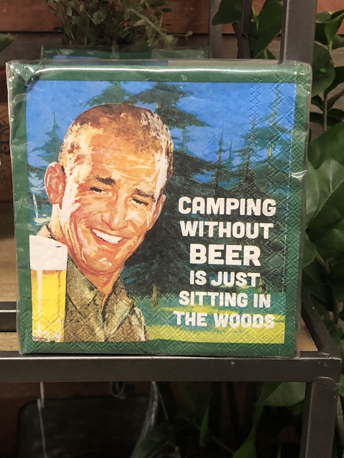 Camping without beer - Bev