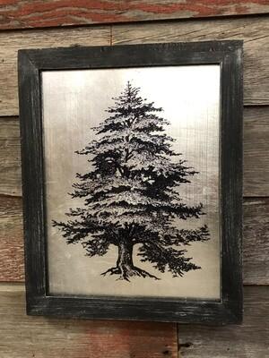 Pine Tree Metal Frame