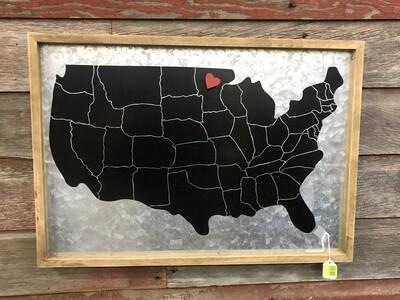 USA Memo Board