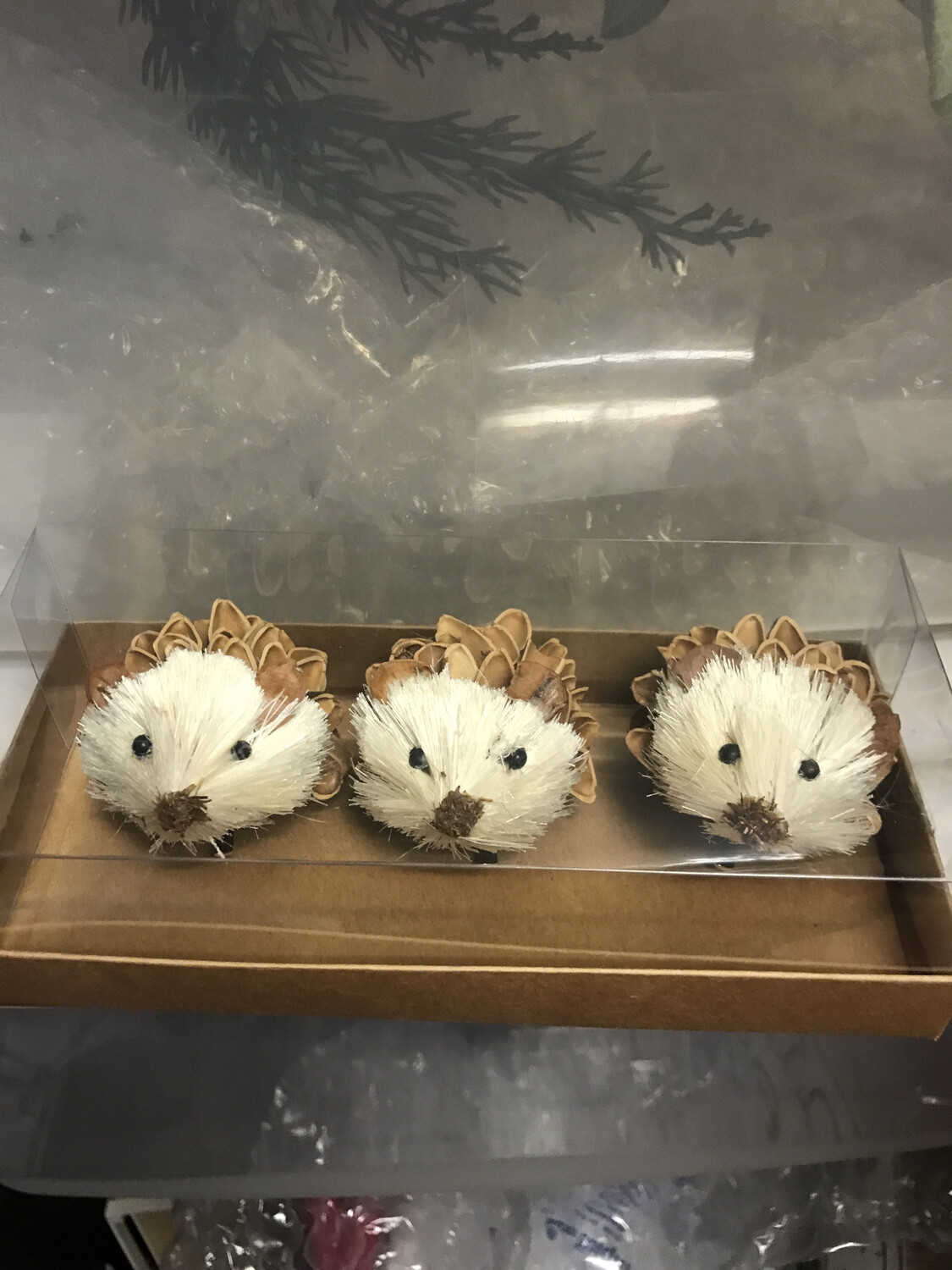 Set/3 Sisal Hedgehog