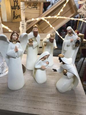 6pc Nativity Set