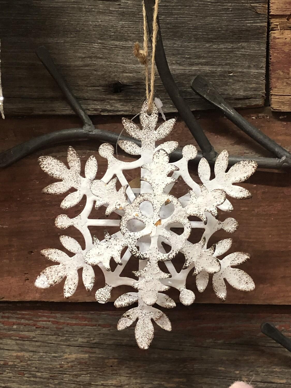 Layered Snowflake Metal