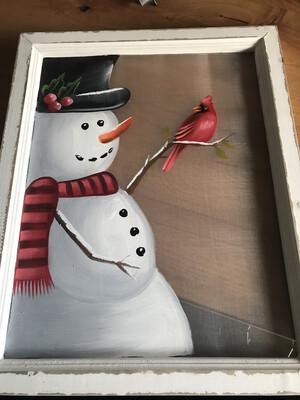 Snowman Screen