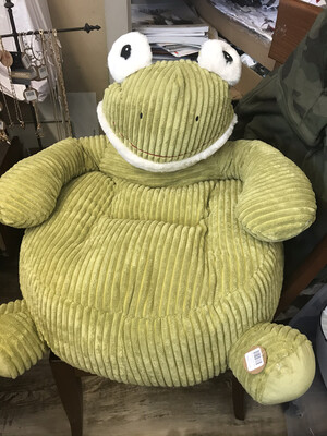 Plush Frog Chair