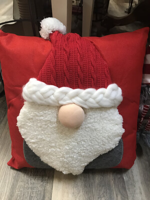 Fuzzy Gnome Pillow