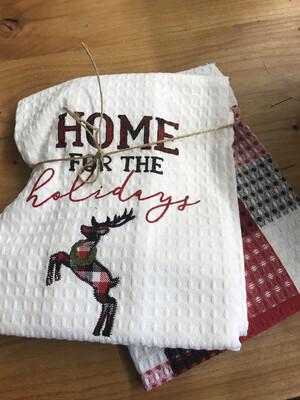 Buffalo Towel Set