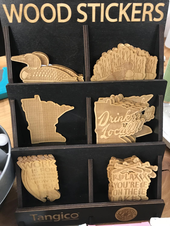 Wood Sticker