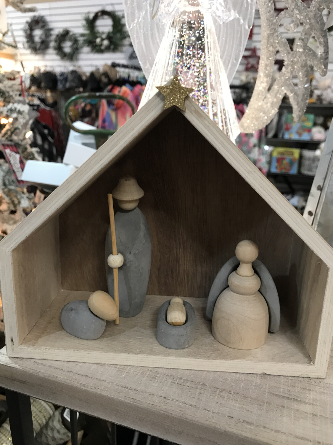 "7-3/4"" Nativity Set"