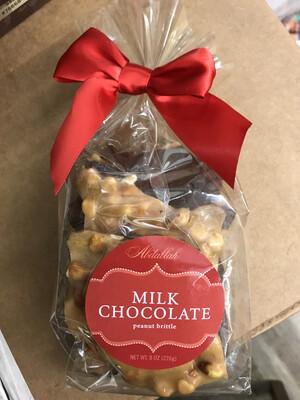 Milk Chocolate Peanut Brittle