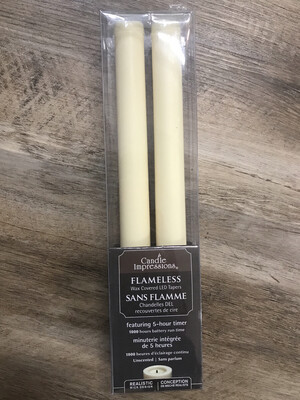 """9"""" Flameless Tapers"""