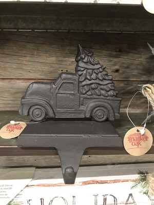 Cast Truck Stocking Holder