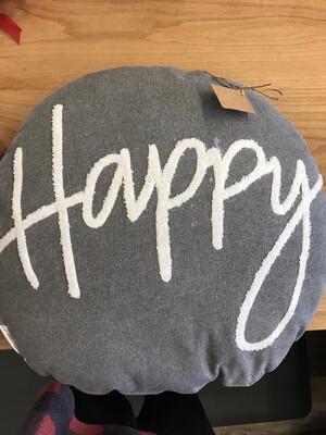 Happy Pillow