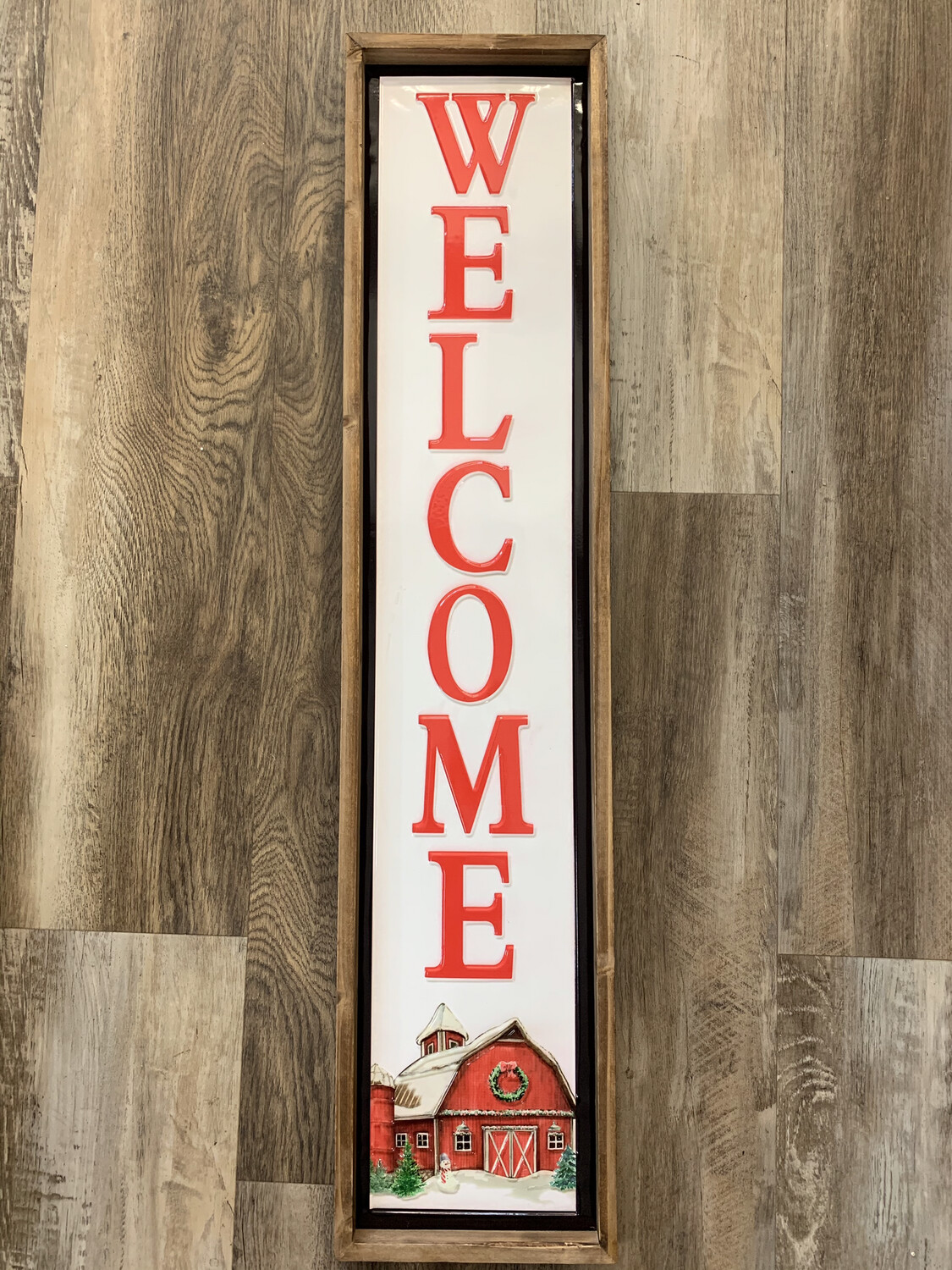 """41"""" Barn Welcome Sign"""