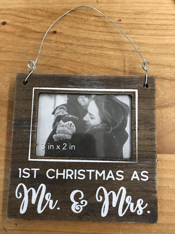 1st Christmas Mr & Mrs
