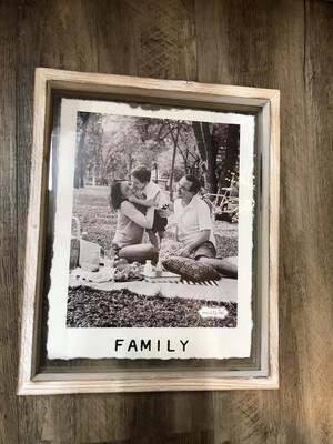 Family Glass Frame
