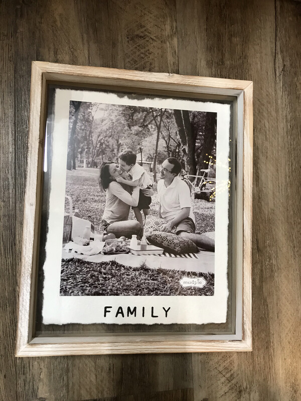 Family Glass Frame