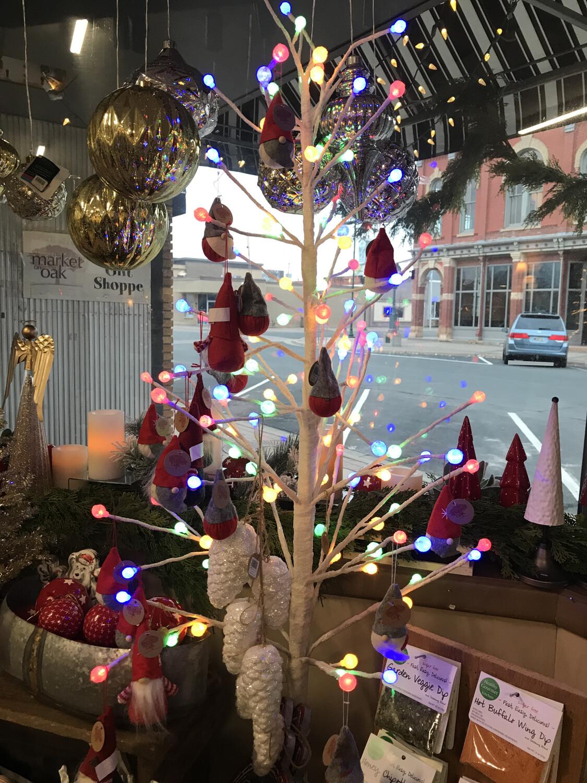 5' Multi Color 120 LED Tree
