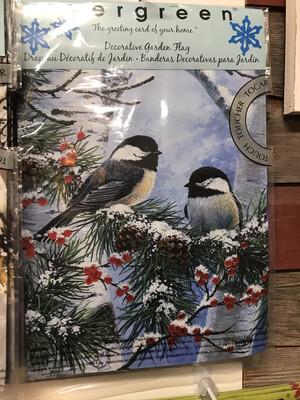 Winter Chickadee Friends