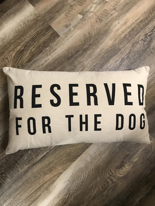 "Dog Pillow 24"" x 14"""