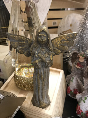 Cast Iron Golden Angel