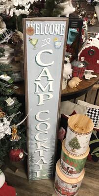 Porch Board -Camp Cocktail