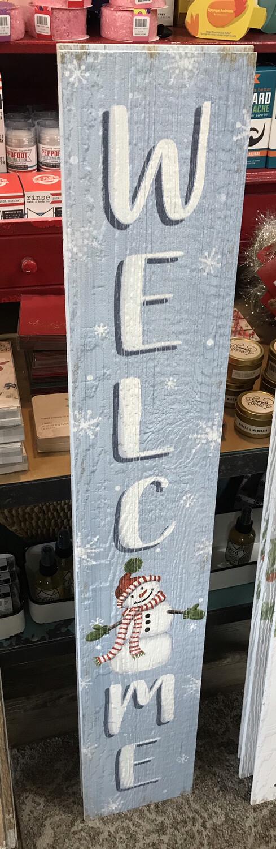 Porch Board -Snowman