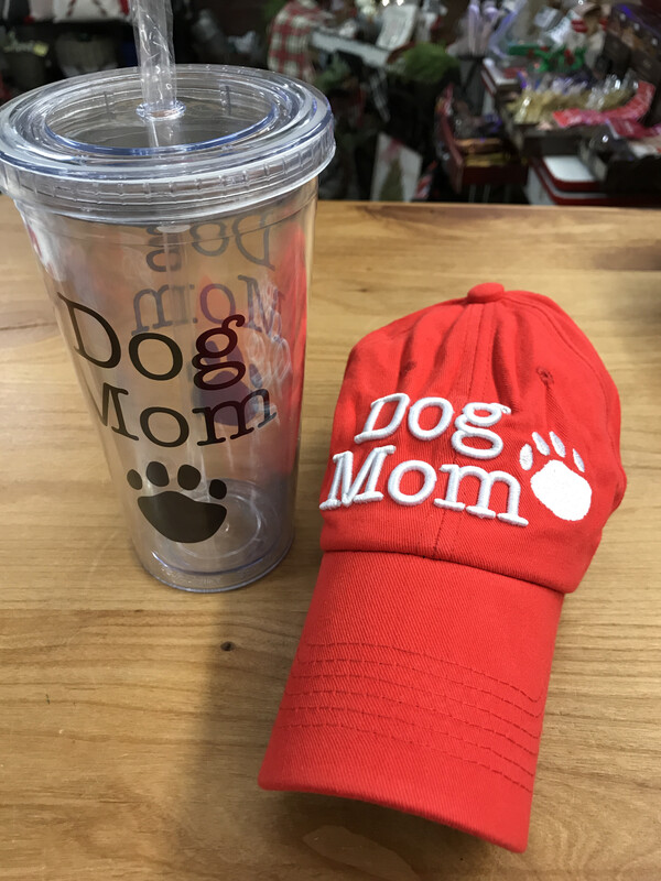 18oz Dog Mom Tumbler Set