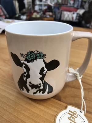Ceramic Cow Mug