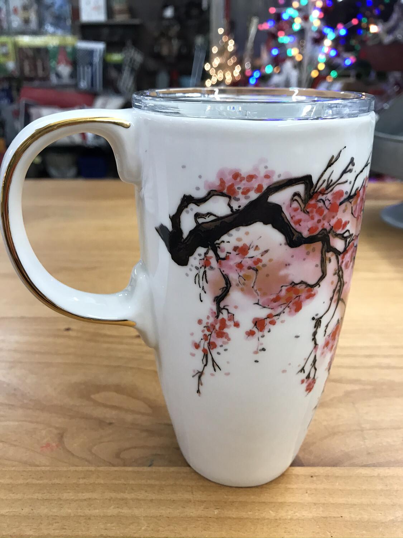 Ceramic Travel Mug/Lid