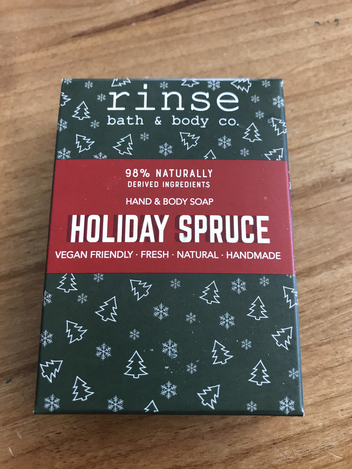 Holiday Spruce Soap