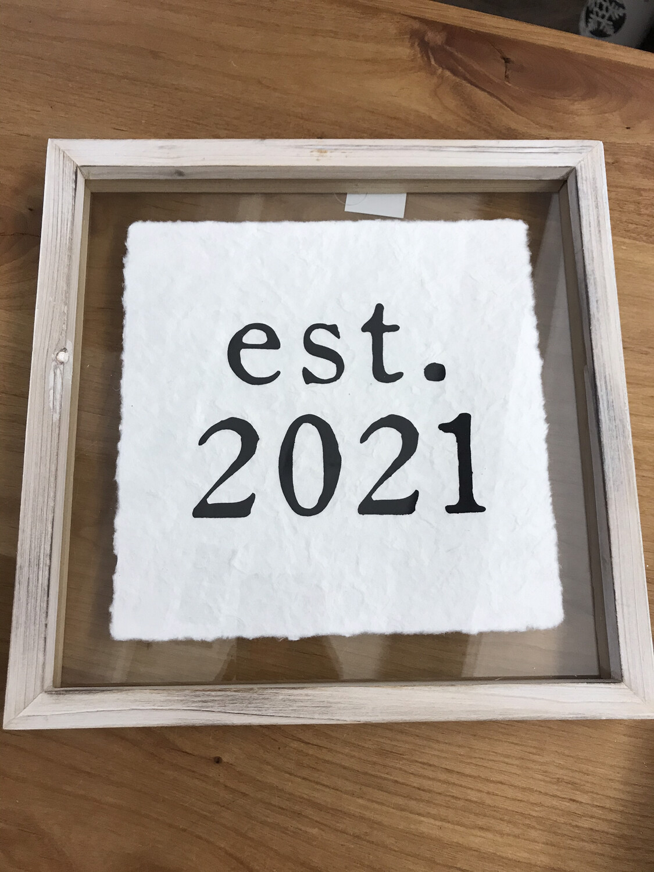 est. 2021 Frame