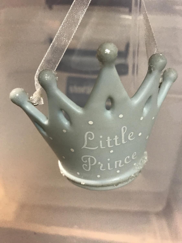 Lil Prince Porcelain Ornament