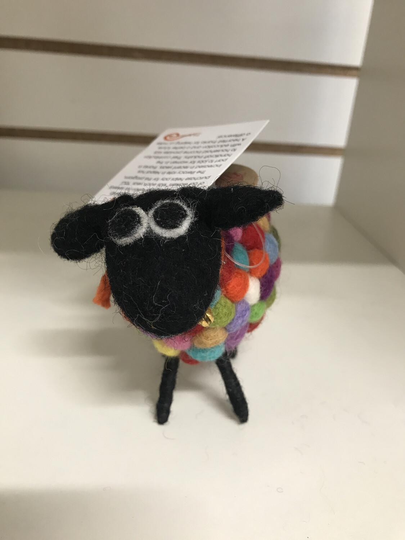 Rainbow Handmade Sheep
