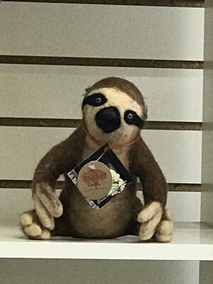 Handmade Brown Sloth