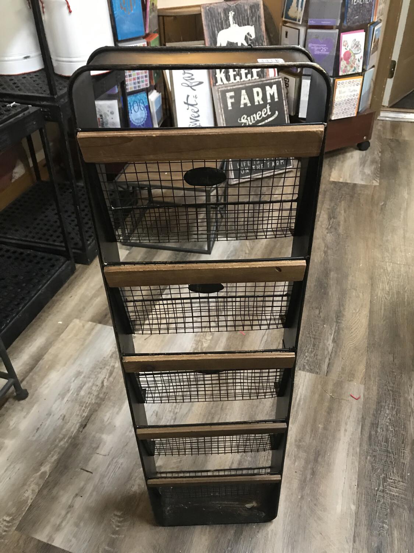5 Basket Wall Hanger