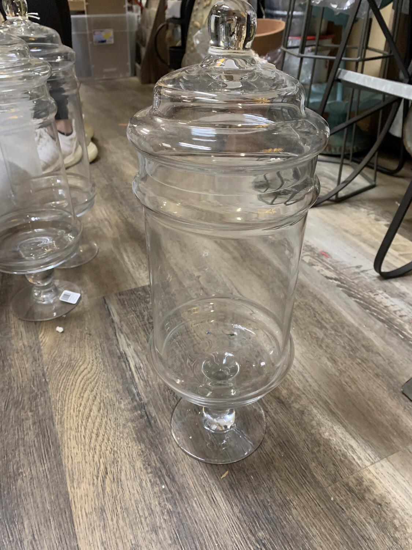 15 1/4 Glass Apothecary Jar